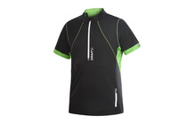 CRAFT Men Performance Run Hybrid Tee noir vert